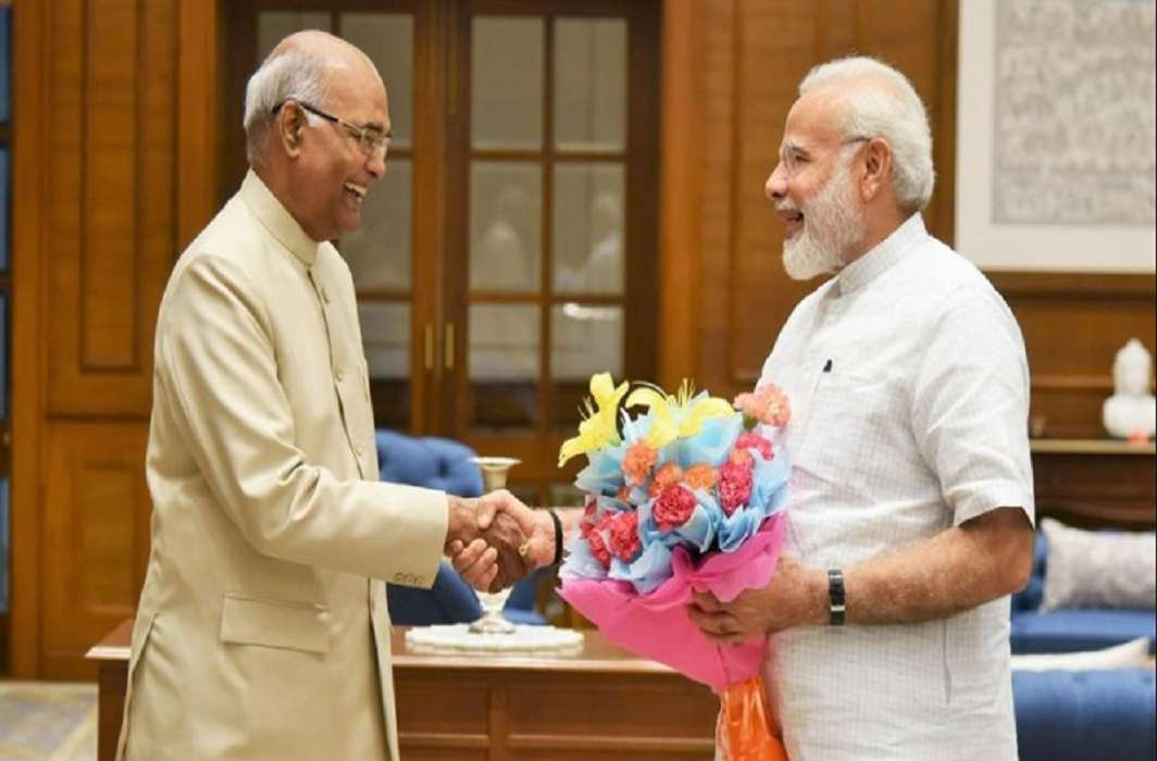 Top leaders including PM Modi congratulated President Ram Nath Kovind on his birthday