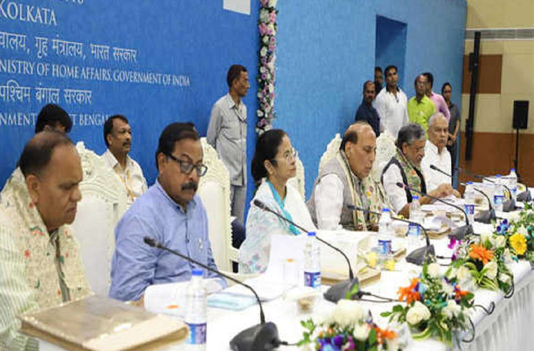 Rajnath said No compromise with Maoists and terrorist organizations