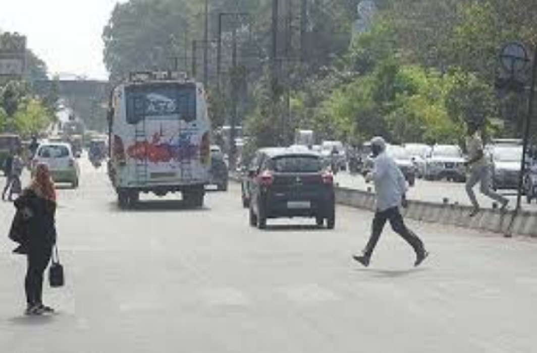 Walking on Indian roads is dangerous and 56 people die every day