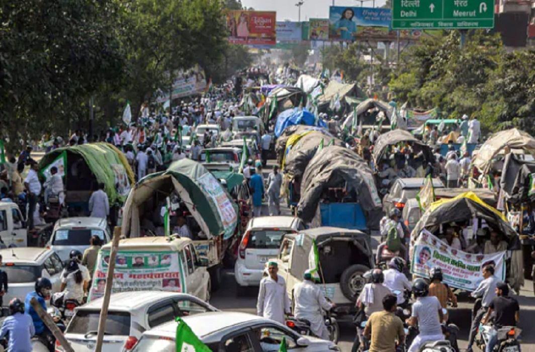farmers agitation in delhi is over