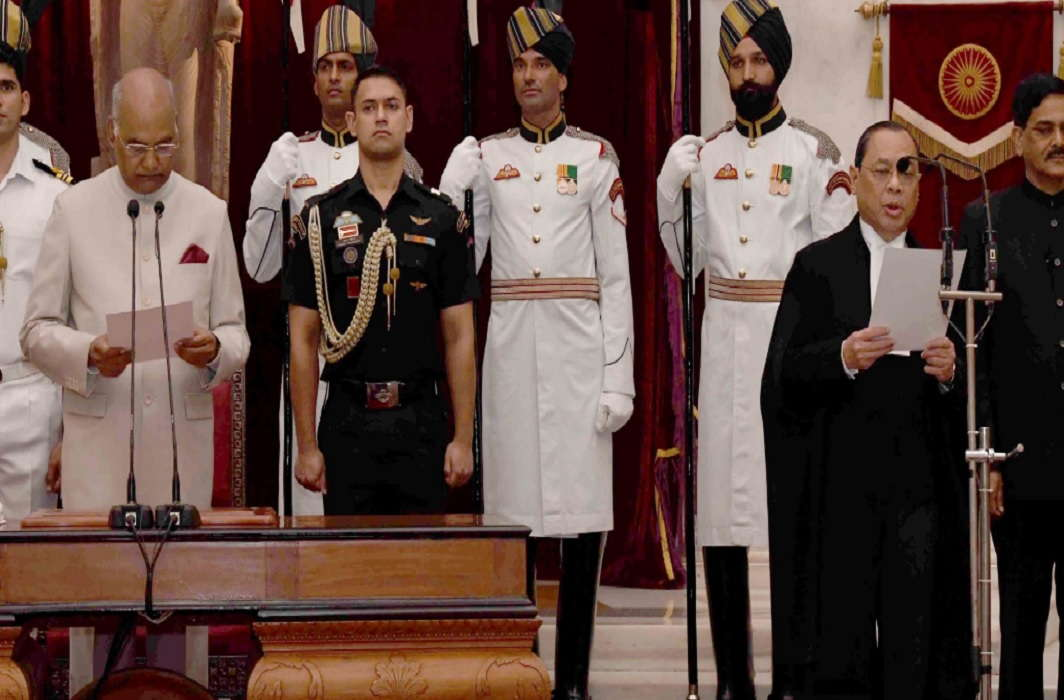 Justice Ranjan Gogoi assumed the charge of Chief Justice of India