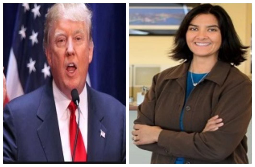 Donald Trump has given nuclear department responsibility to Indian Woman