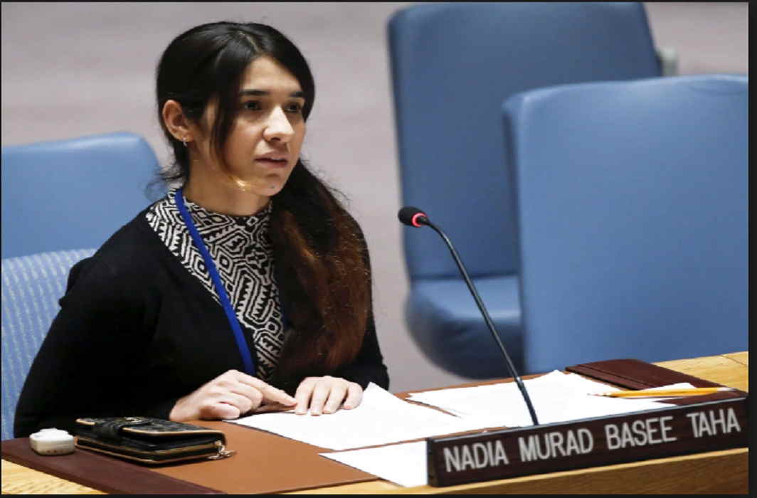 The story of Nobel Laureate Nadia Murad Is full of pain and Terrorists raped for 3 months