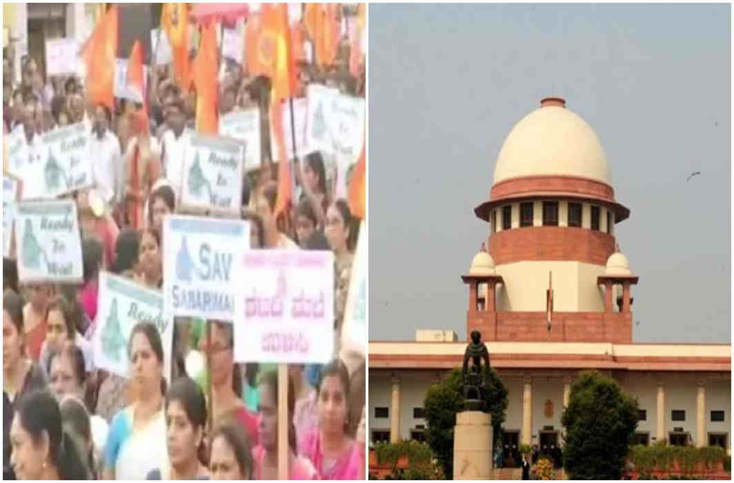 Women are protesting on the Supreme Court's Sabarimala verdict and Procession in Bengaluru