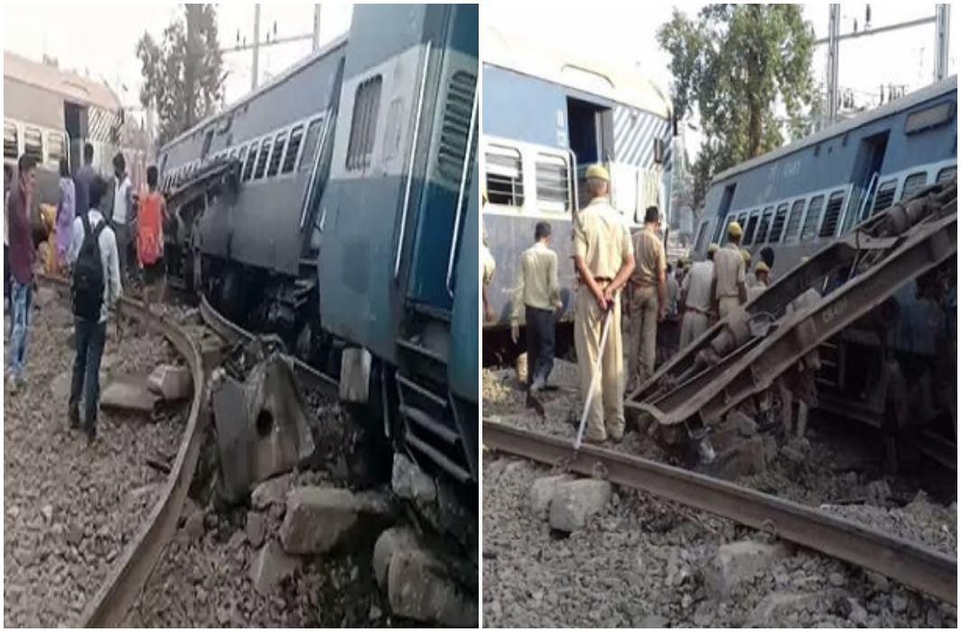 Farakka Express derails near Rae Bareli in Uttar Pradesh and 7 dead