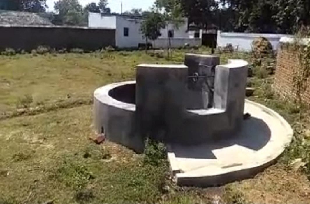 A well is stolen in Bokaro and FIR registered in police station