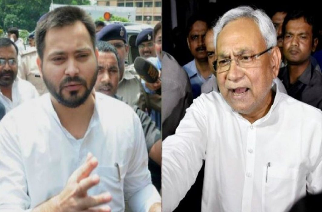 Tejashwi Yadav attack on nitish kumar and said Nitish Kumar is silent on migrate Biharis from Gujarat