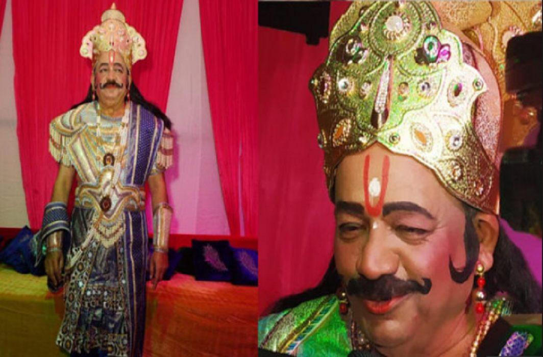 modi governmnet's central minister dr harshvardhan has pbecome role raja janak in ramleela