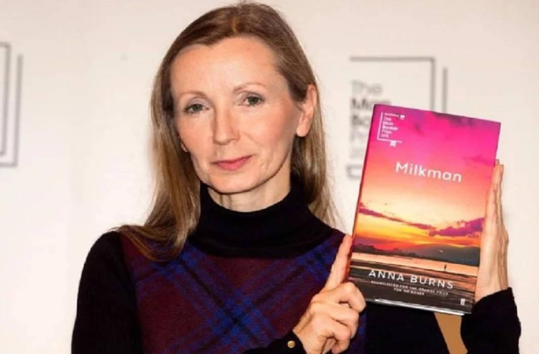 Irish author Anna Burns got Man Booker Award For 'MilkMan'