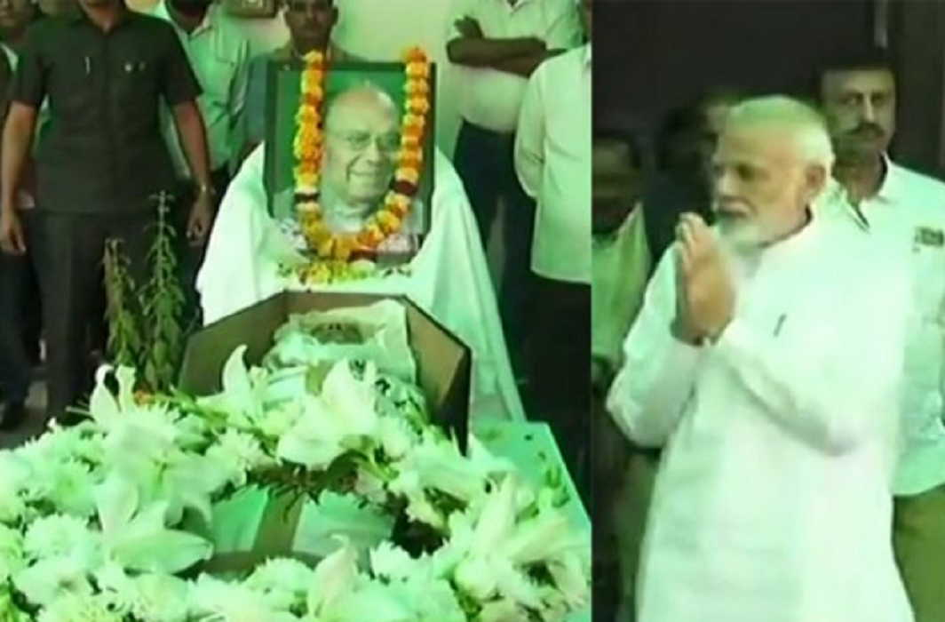 Bjp MP Bhola Singh of Begusarai died and many leaders expressed sorrow including PM Modi