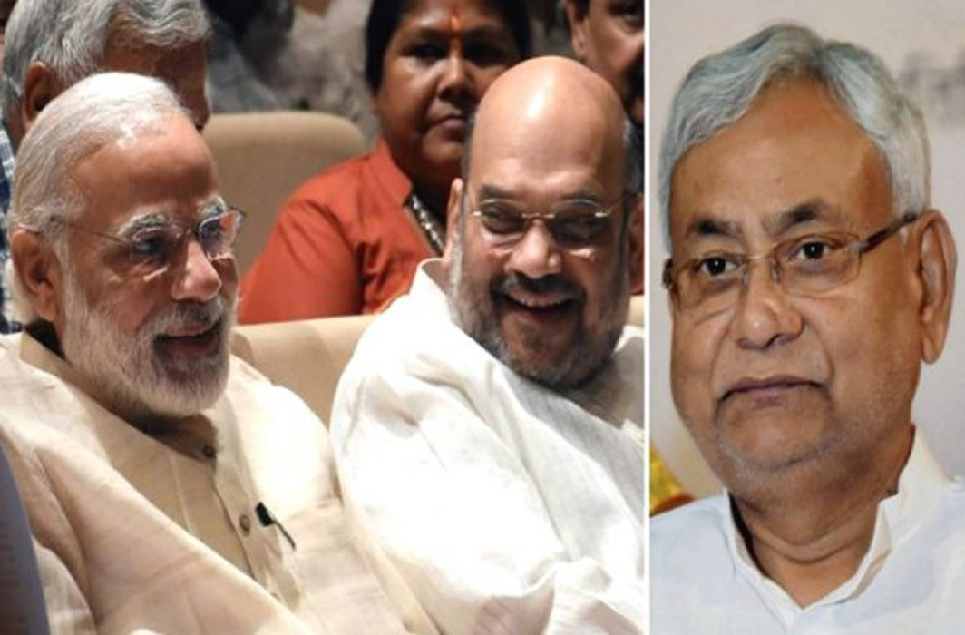 BJP and JDU has jointly resolved the seats,Both got equal seats