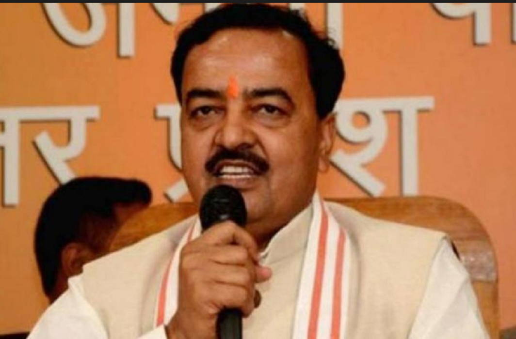 Keshav Prasad Maurya said Congress is roaming across the country as a false machine