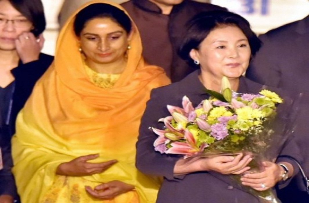 South Korean First Lady In India