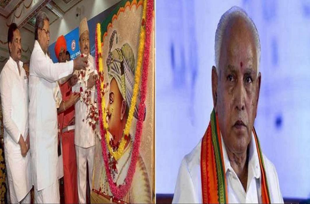 controversy over tipu sultan birth anniversary in karnataka