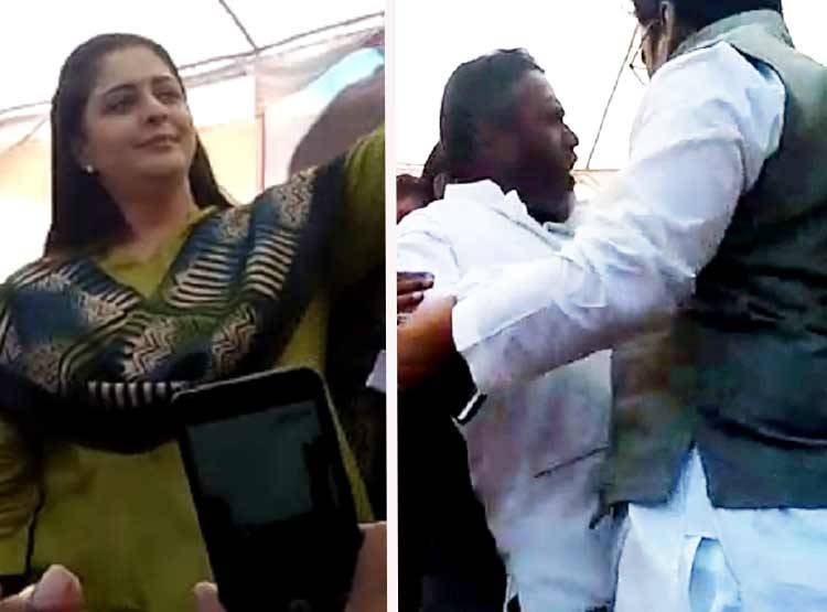 Congress workers kill themselves for Welcome to Nagma
