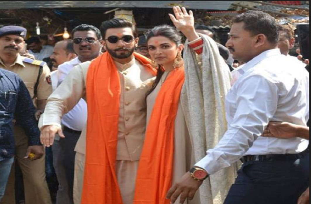 Deepavir reached Siddhivinayak temple for blessings after marriage