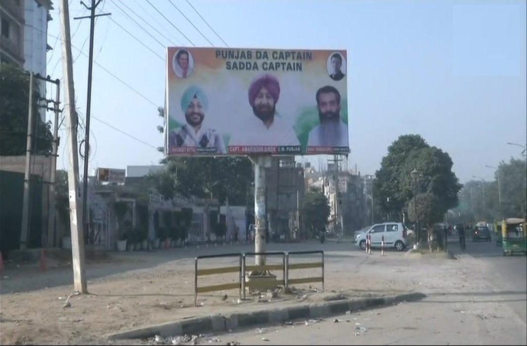 Poster War In Punjab