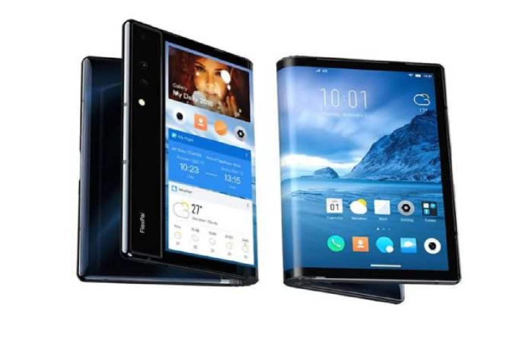Launch of the world's first foldable phone, will be easily fit in pocket
