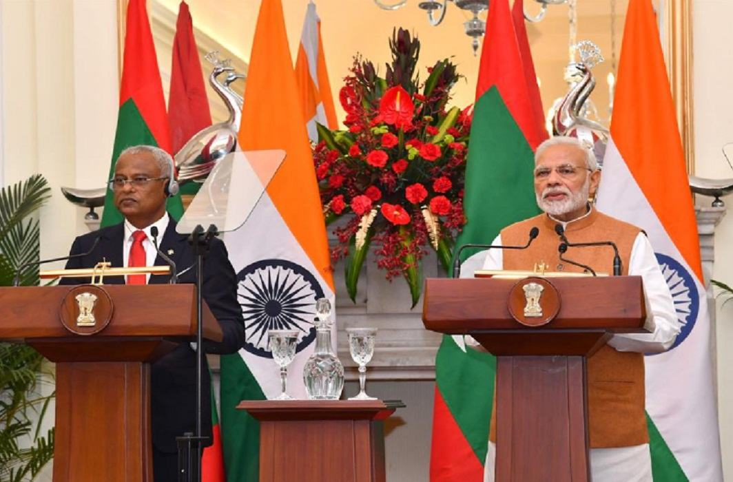 India And Maldives PM