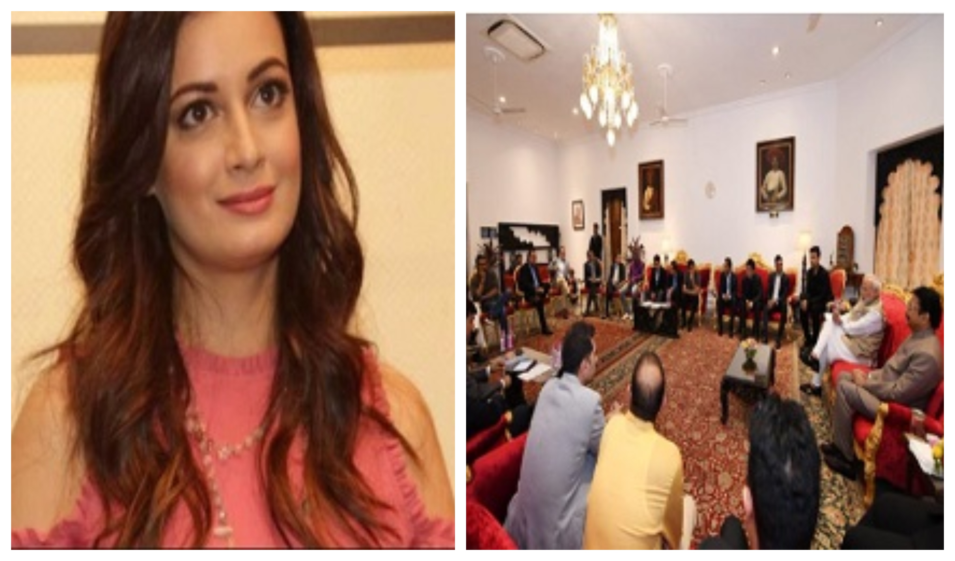 Diya Mirza questions Bollywood delegation with Modi