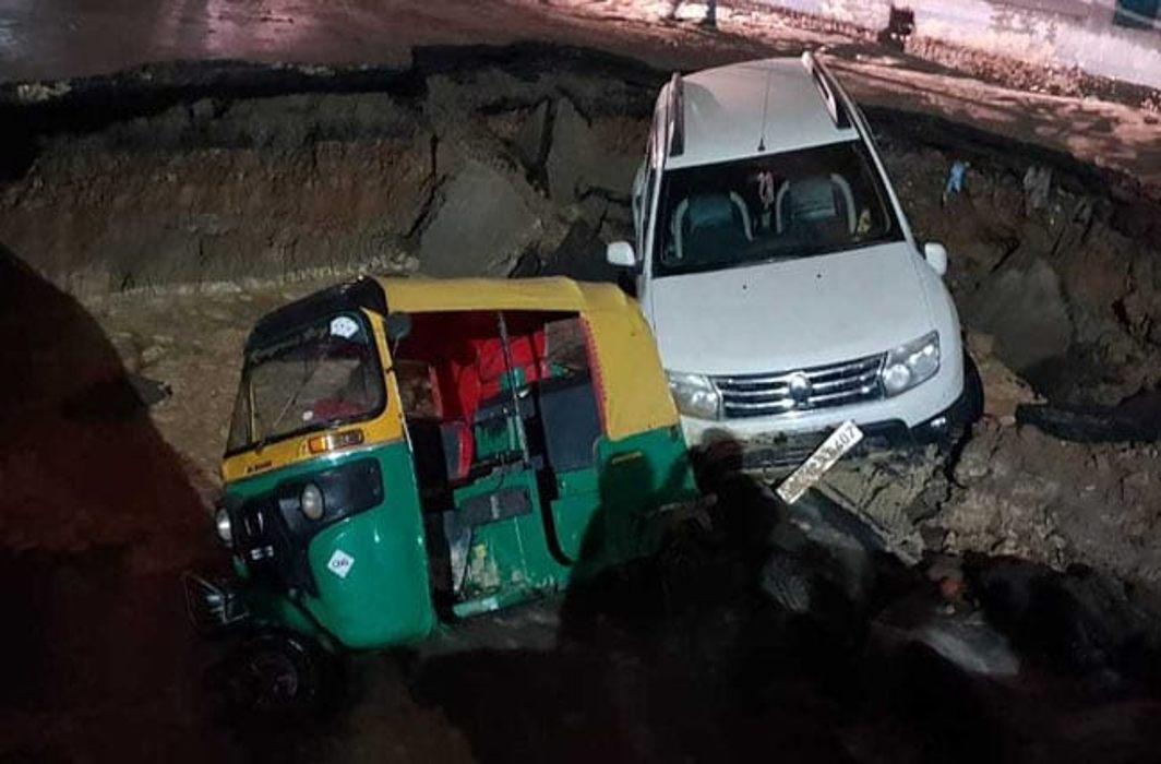 Accident in Delhi