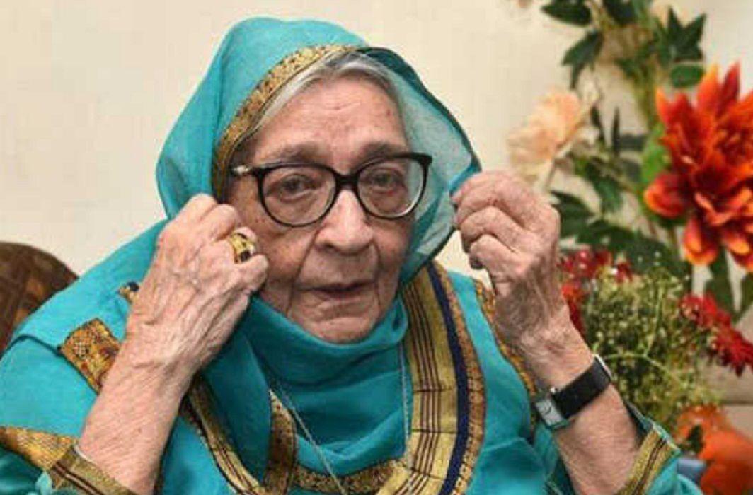 Famous-writer-Krishna-Sobti