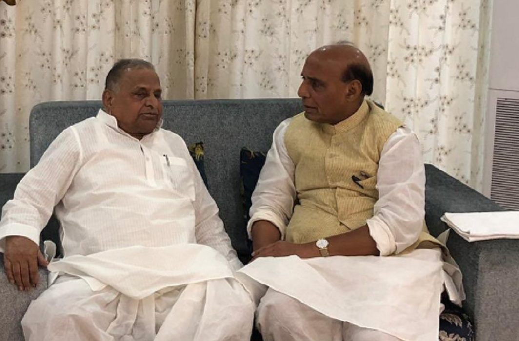 rajnath and mulayam