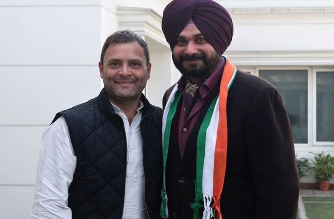 Navjot Singh Sidhu & Rahul Gandhi
