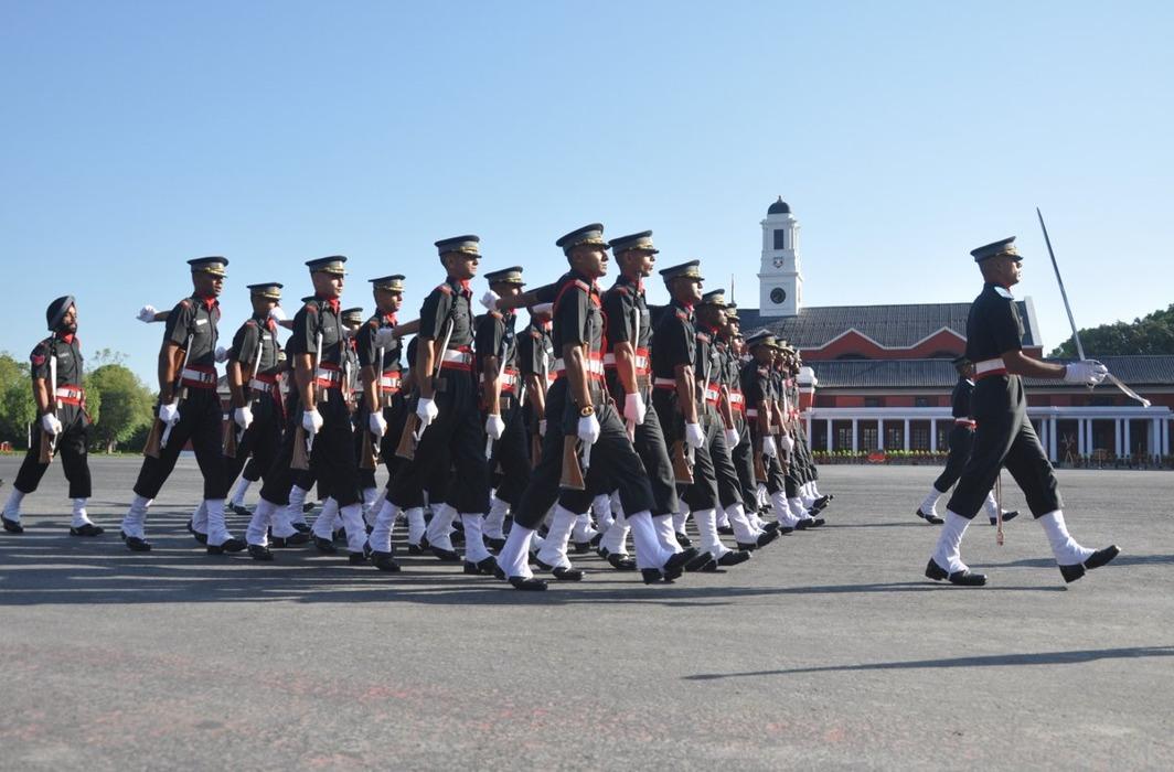 Indian Military Academy in Dehradun
