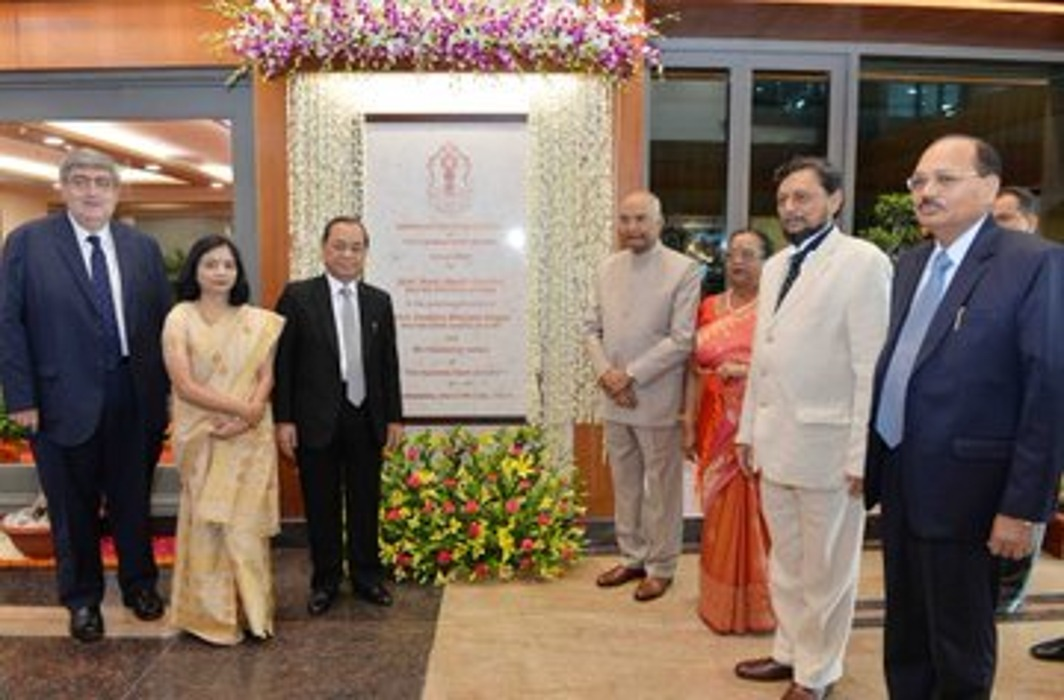 President Inaugurates Additional Building Complex Of Supreme Court