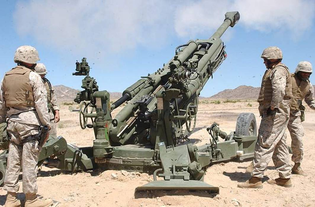 M777 Howitzer India Army