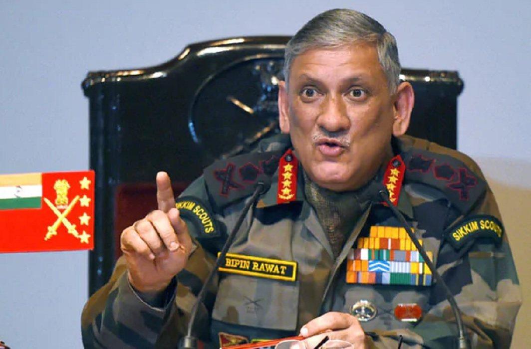 General Bipin Rawat warns pakistan