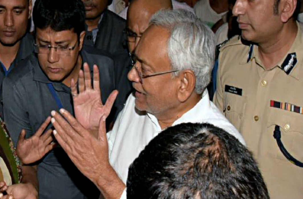 Nitish Kumar on bihar flood