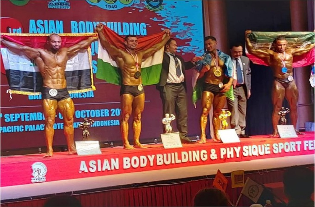 Indian Army bodybuilders