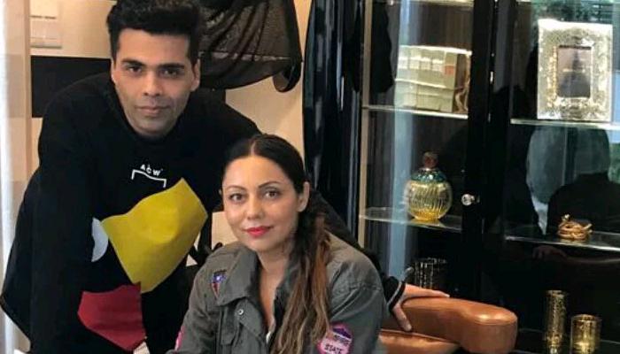 Karan johar birthday wishes to Gauri Khan