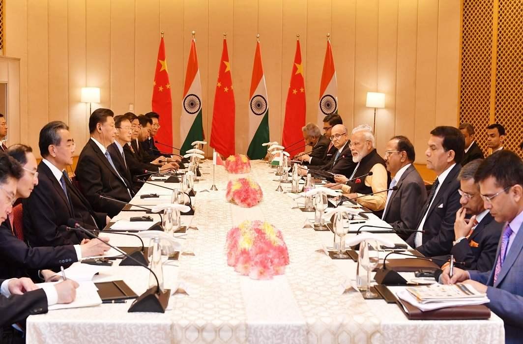 Xi Jinping Narendra Modi meeting
