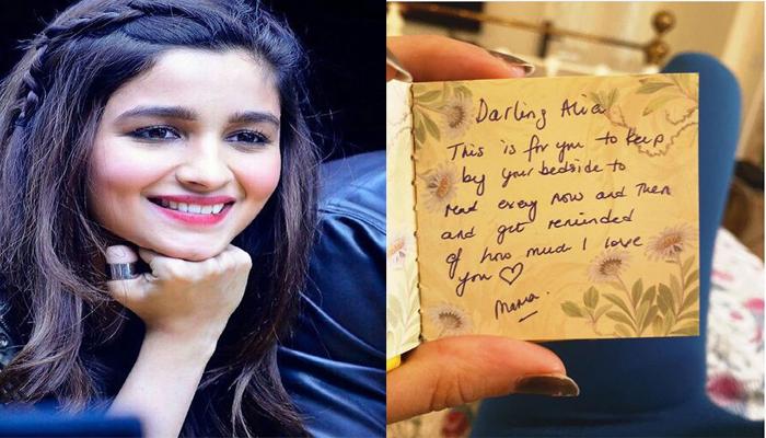 Alia Bhatt shares mom's message