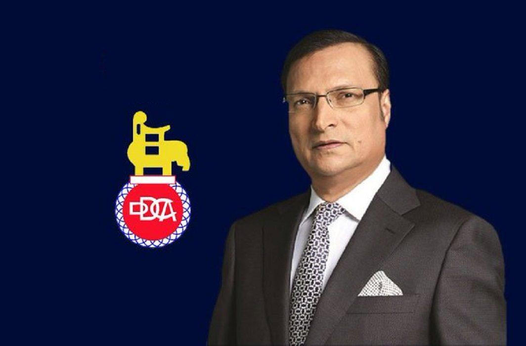 DDCA President Rajat Sharma