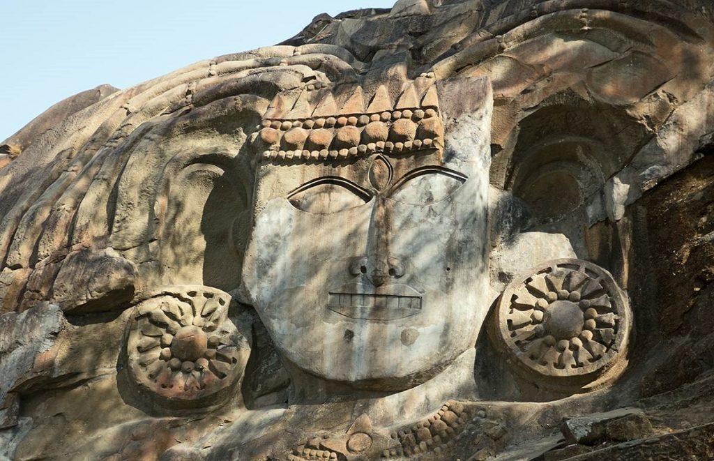 Unakoti Shiva Templ