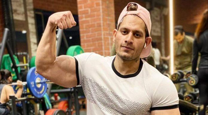 Mister India Body Builder Manoj Patil
