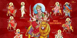 meaning of the names of nine goddesses of nine durga