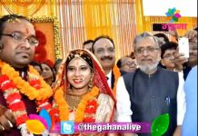 Sushil Kumar Modi son's wedding