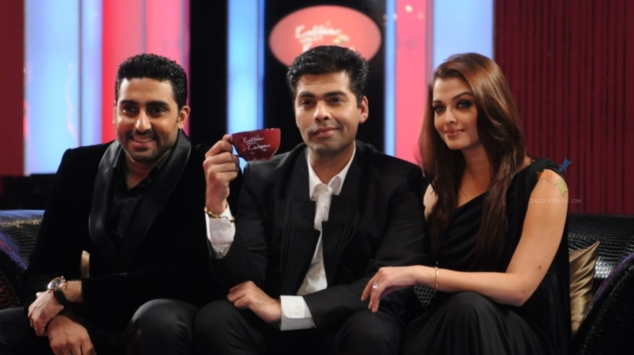 coffee with karan with bachchan family