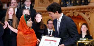 Malala inspires, yet again