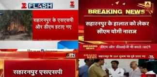 Saharanpur fury rages on news screens