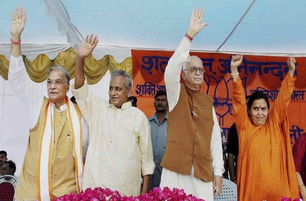 Framing of charges against BJP leaders in Babri case got maximum screen space